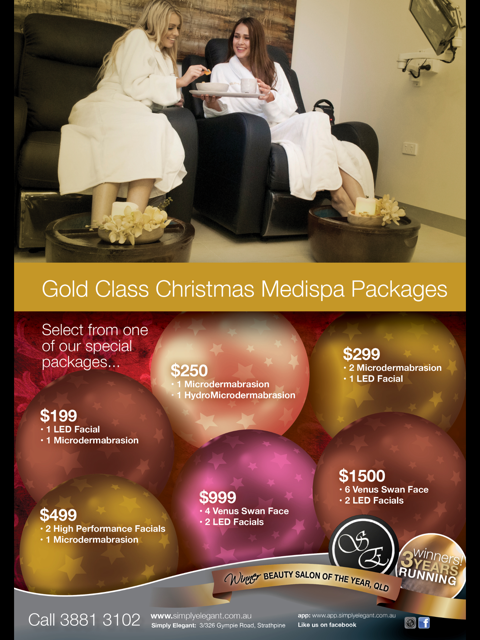 Gold Class Medi Spa Packages
