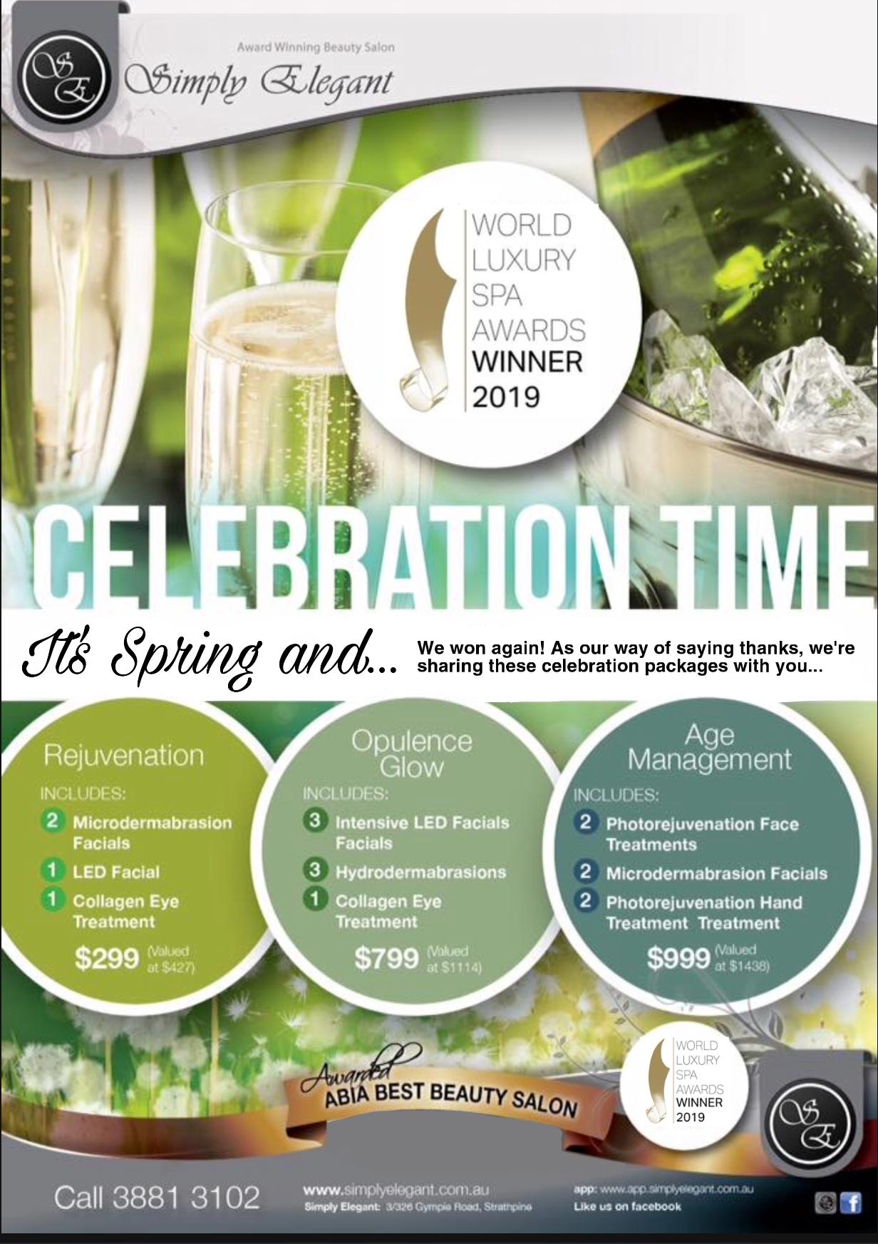 Celebration Time at Simply Elegant