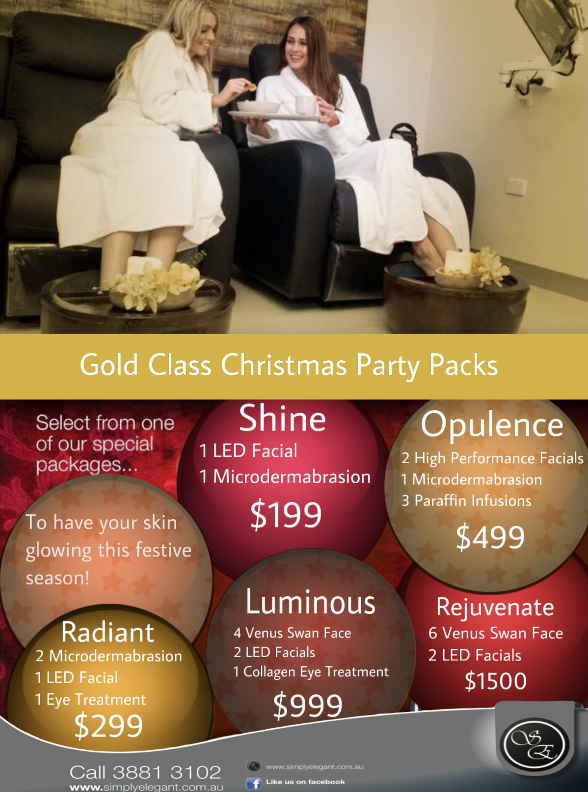 Special Christmas Party Packages