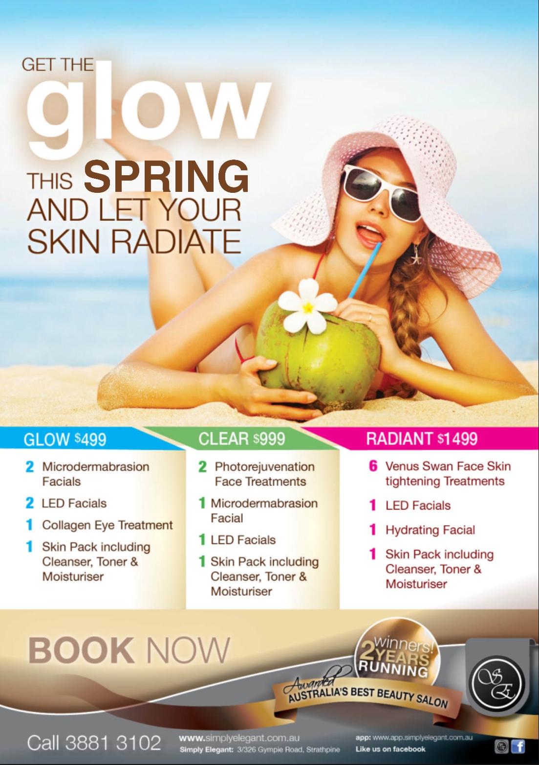 Spring Skin Programs