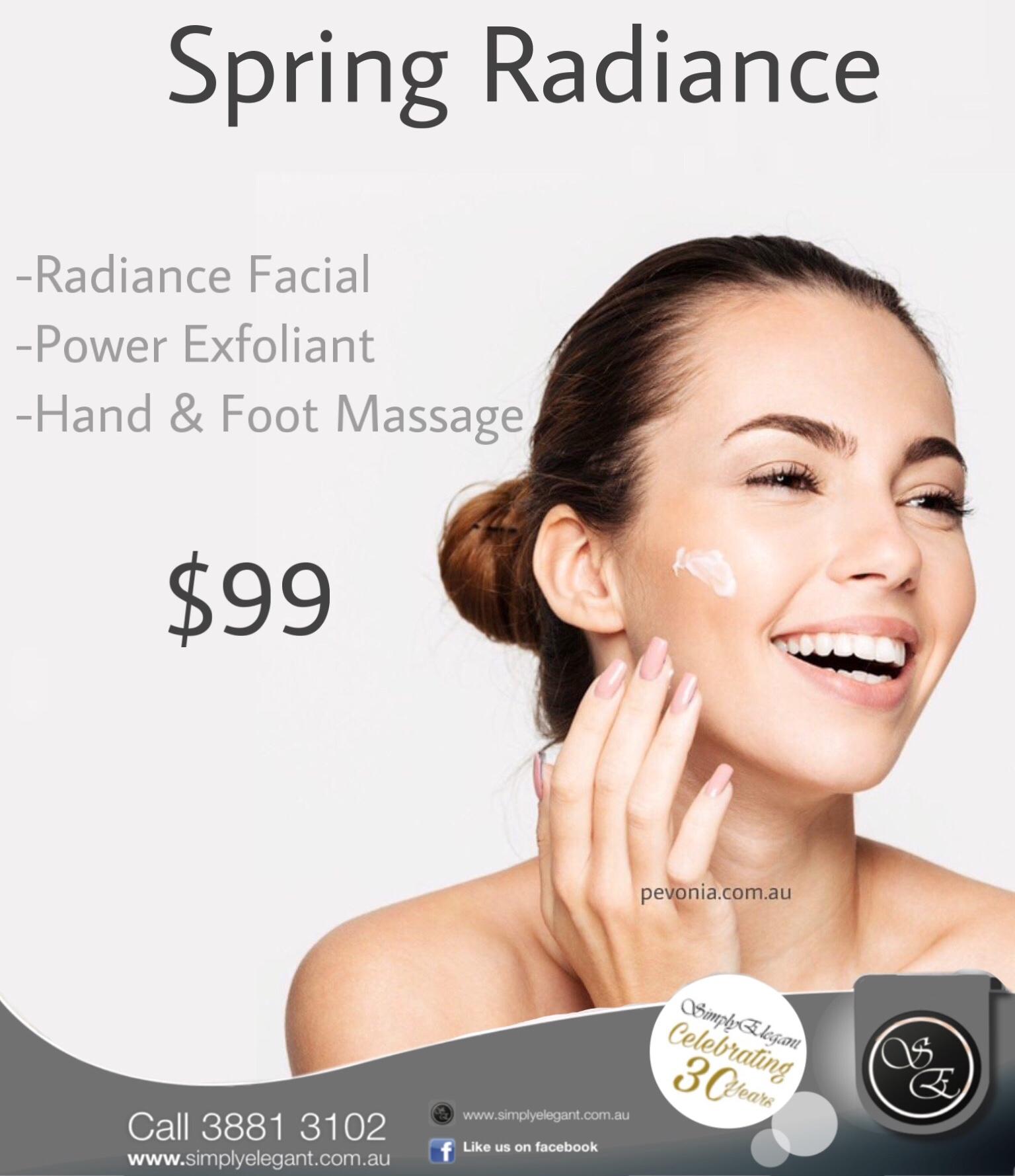 Spring Radiance Facial