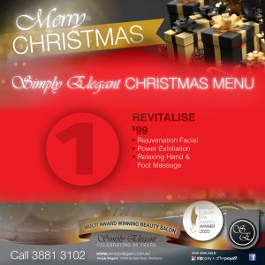 Simply Elegant images - Christmas packages - 1 Revitalise