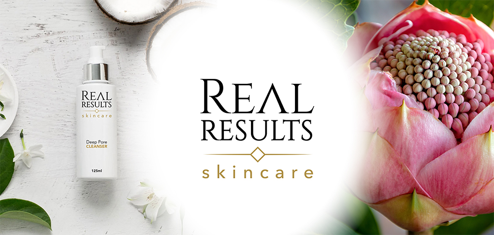 Real Results Skincare - banner